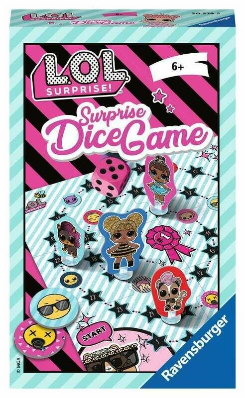 L.O.L. Dice Game Travel Game