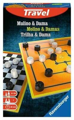 Mulino e Dama Travel Game