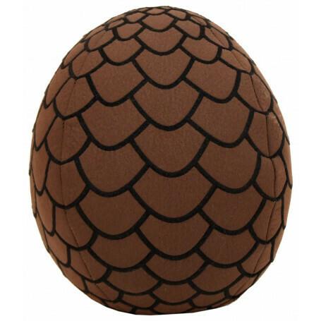 Brown Dragon Egg Plush 18 cm - Game of Thrones