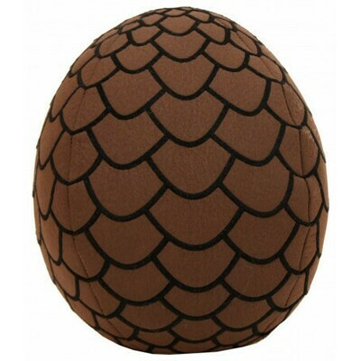 Brown Dragon Egg Plush 18 cm - Game of Thrones