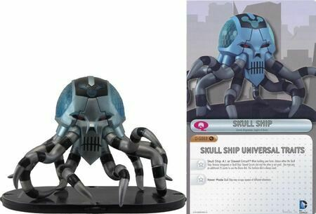 Exclusive Brainiac Skull Ship - Heroclix