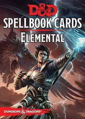 D&D Spellbook Cards - Elemental