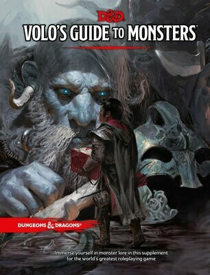 D&D Volo's Guide To Monsters - Quinta Ed.