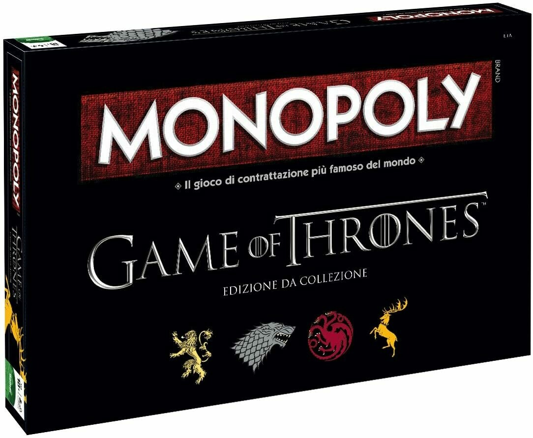 Monopoly Game of Thrones Collector's Edition Italiano