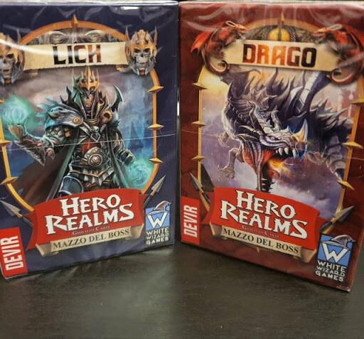 Hero Realms - Lich Mazzo del Boss ITA