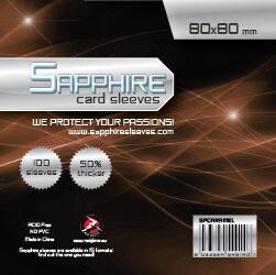 Sapphire - 100 Buste Caramel (80x80)
