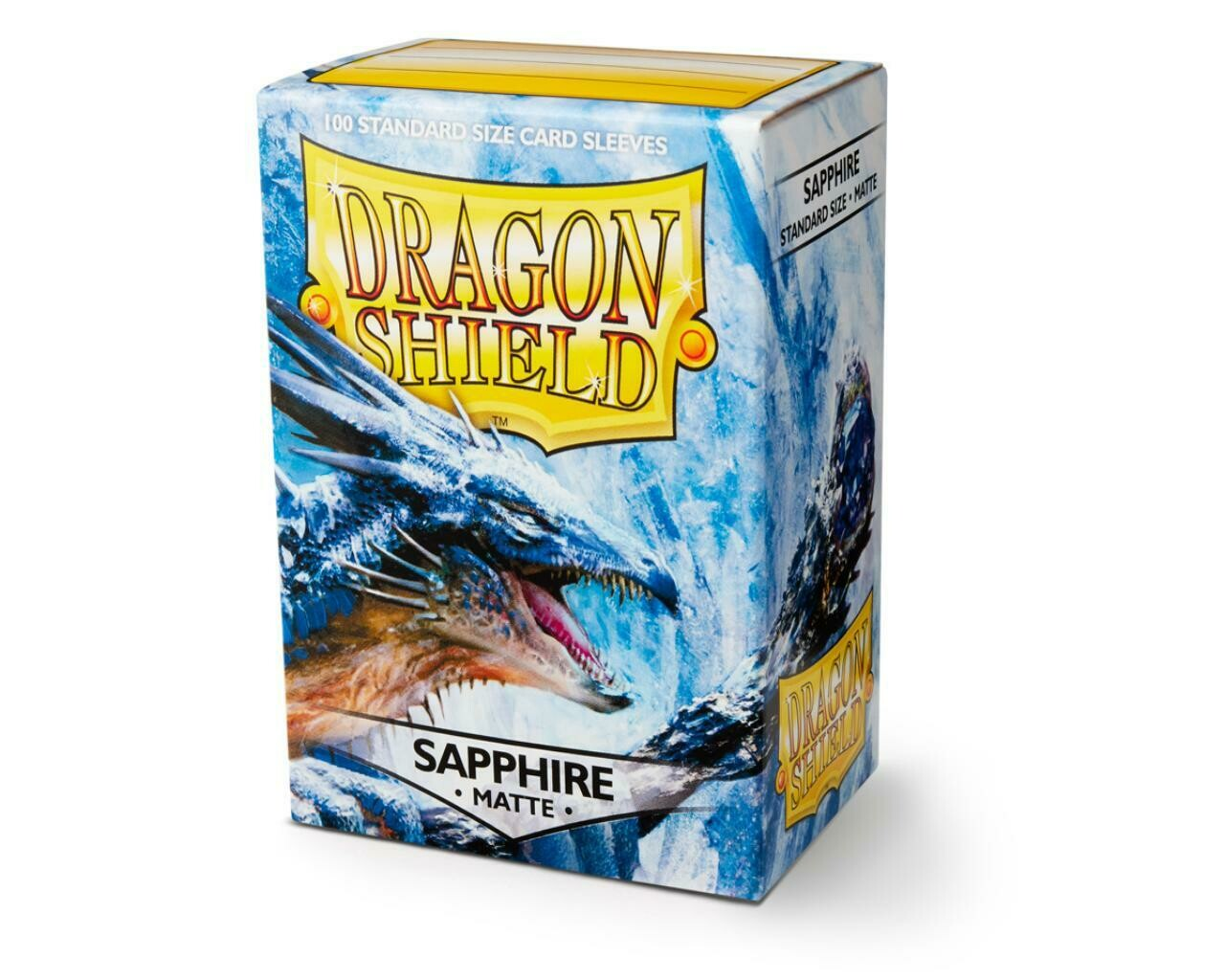 Dragon Shield 100 Sleeves - Matte Sapphire
