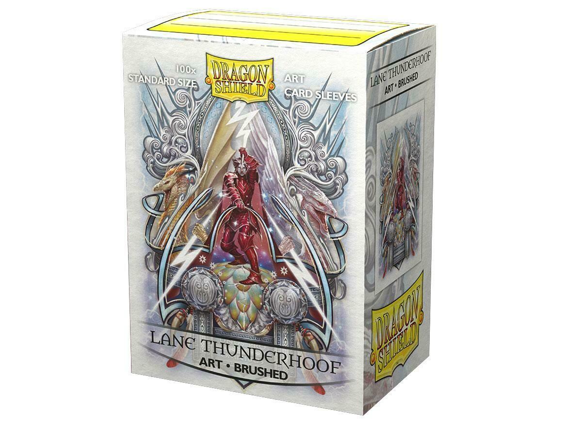 Dragon Shield 100 Sleeves - Art Lane Thunderhoof (Brushed)