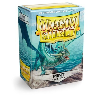 Dragon Shield 100 Sleeves - Matte Mint