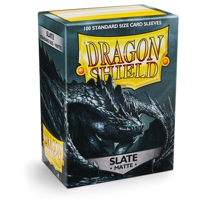 Dragon Shield 100 Sleeves - Matte Slate