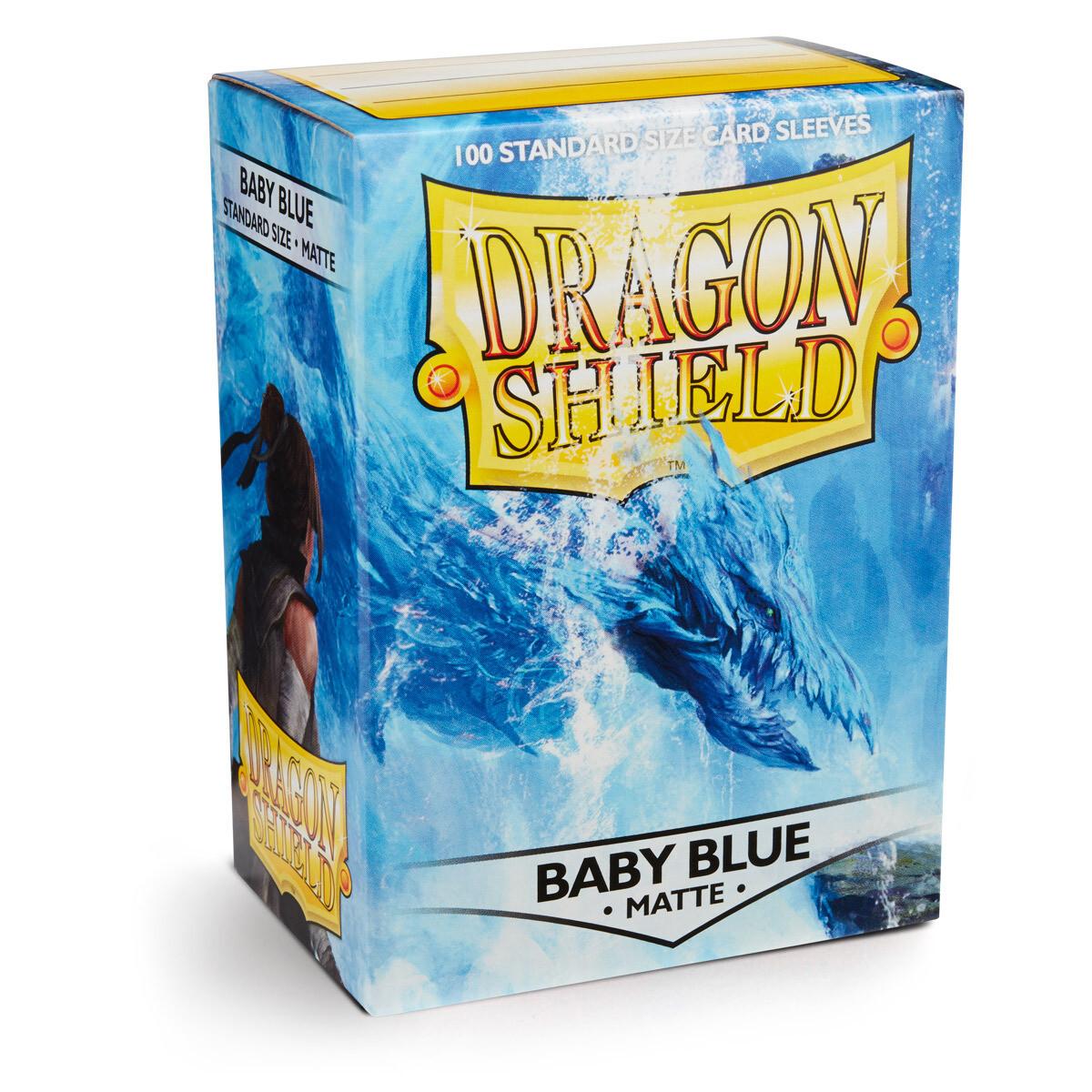 Dragon Shield 100 Sleeves - Matte Baby Blue