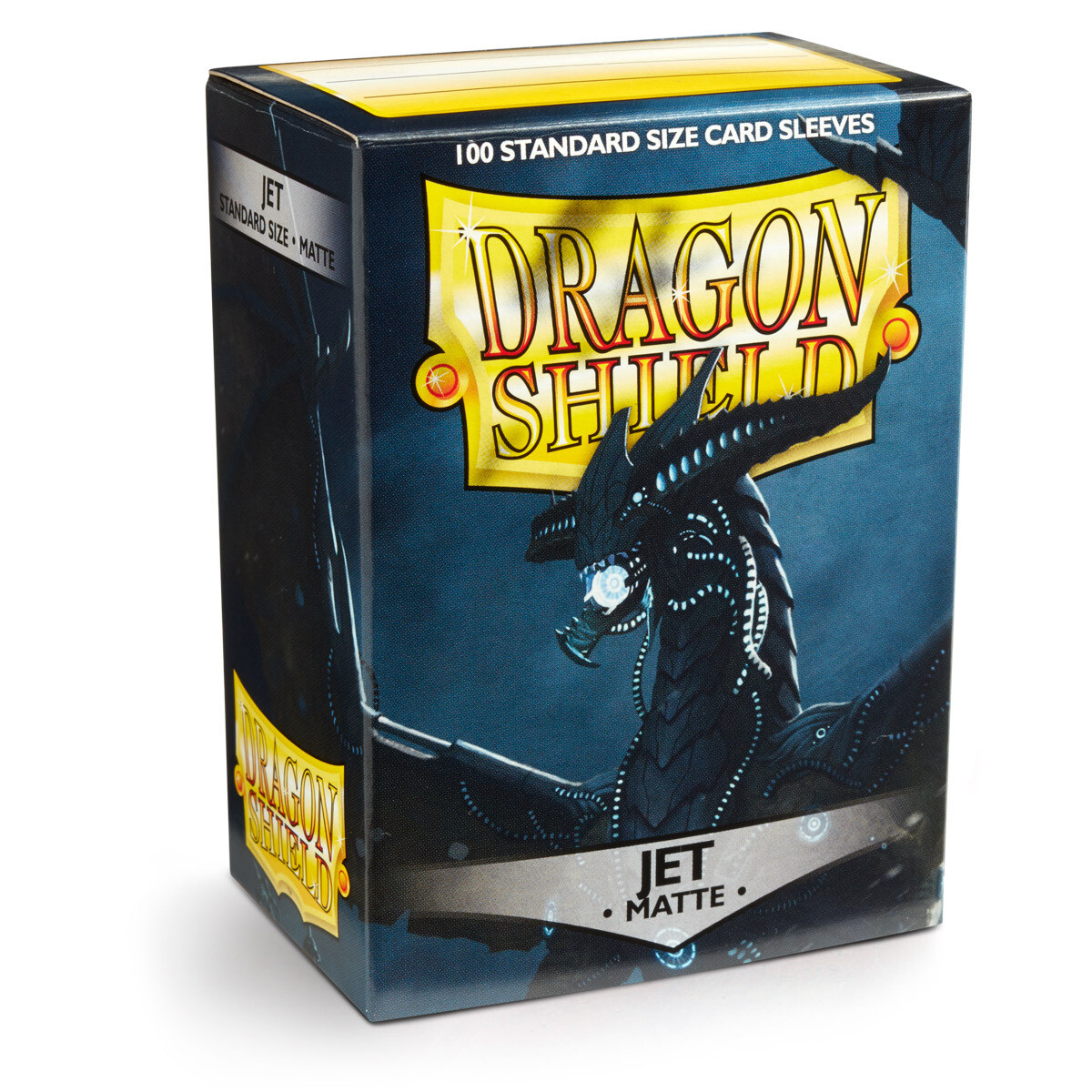 Dragon Shield 100 Sleeves - Matte Jet