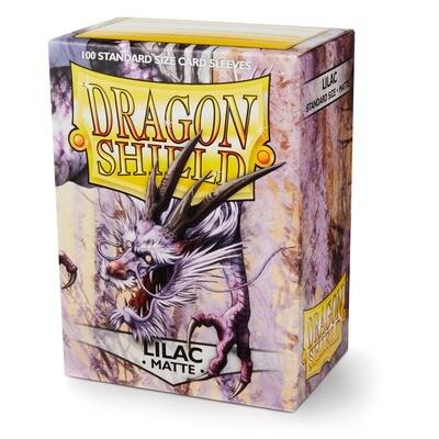 Dragon Shield 100 Sleeves - Matte Lilac