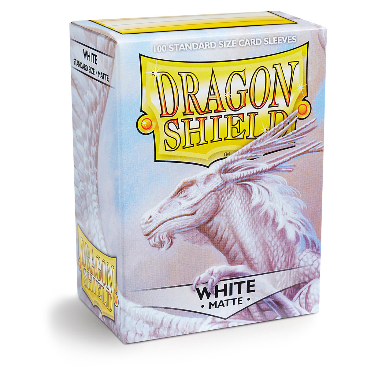 Dragon Shield 100 Sleeves - Matte White