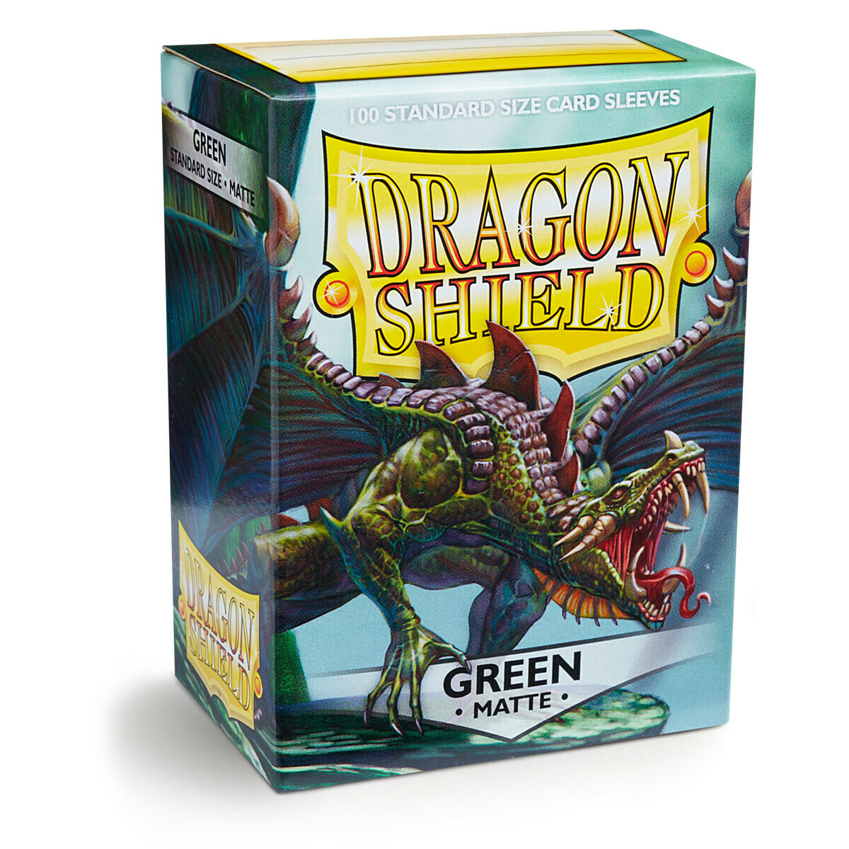 Dragon Shield 100 Sleeves - Matte Green