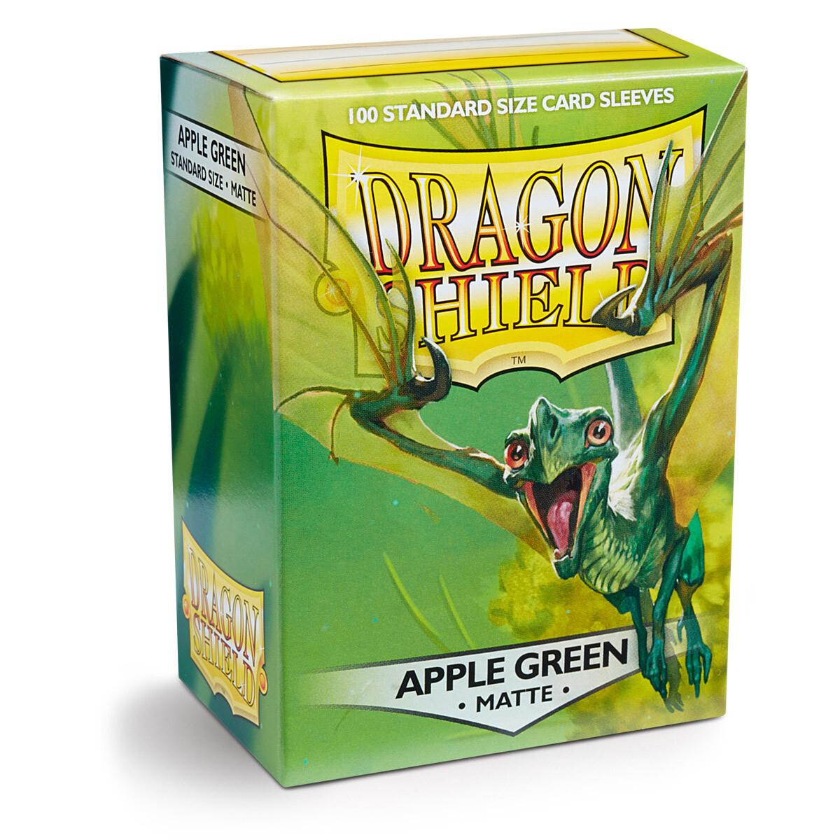 Dragon Shield 100 Sleeves - Matte Apple Green