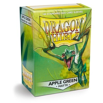 Dragon Shield 100 Sleeves - Matte Apple Green