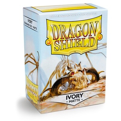 Dragon Shield 100 Sleeves - Matte Ivory