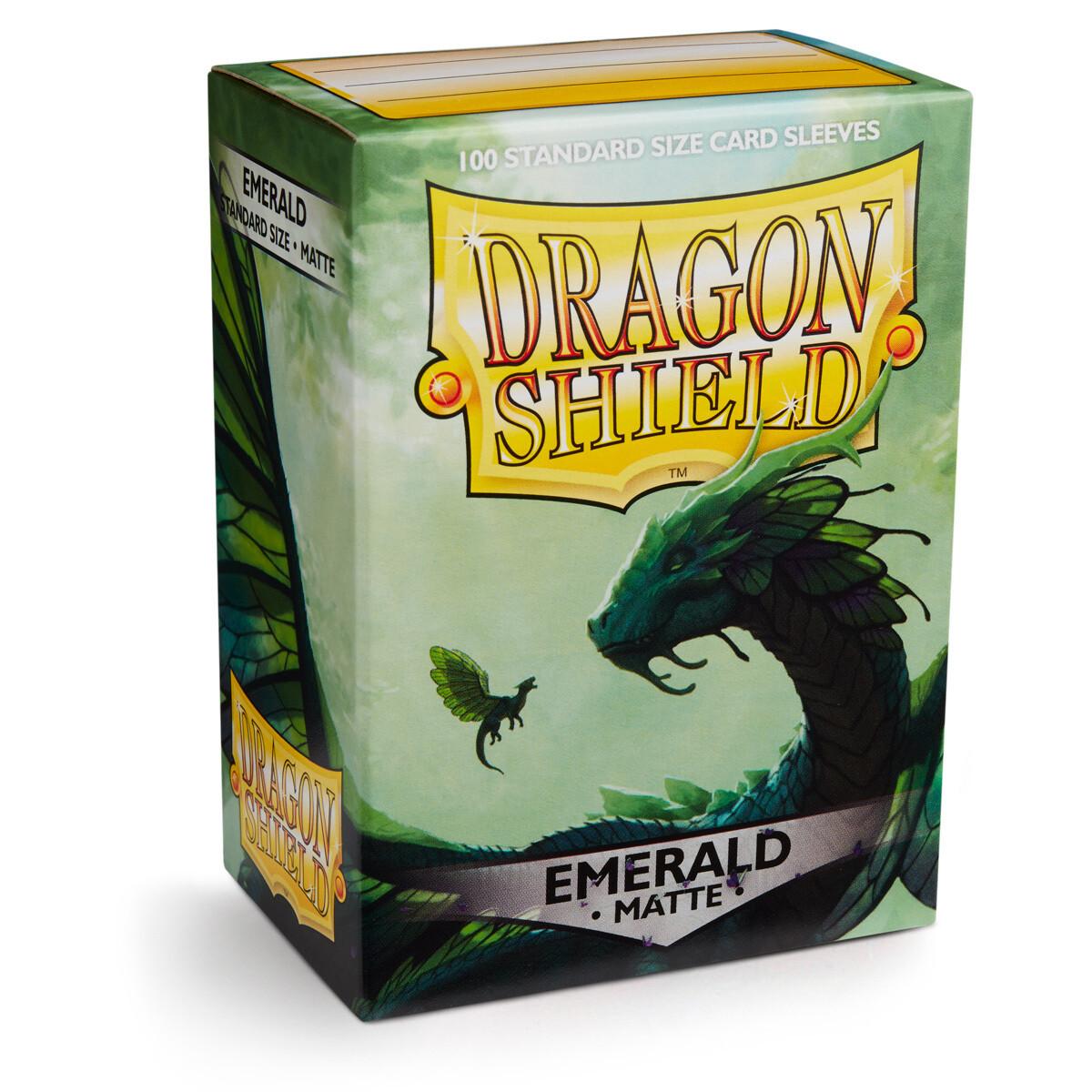 Dragon Shield 100 Sleeves - Matte Emerald