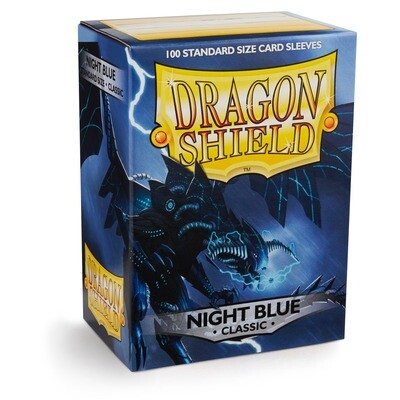 Dragon Shield 100 Sleeves - Night Blue Classic