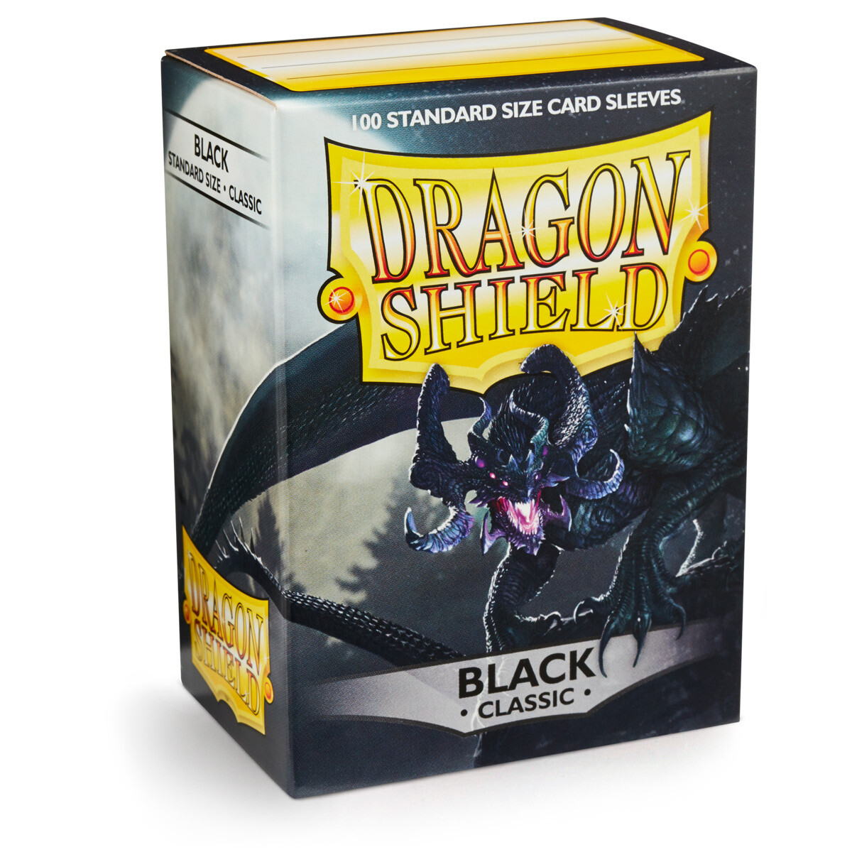Dragon Shield 100 Sleeves - Black