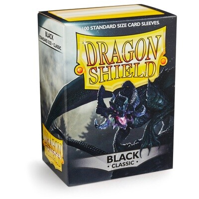 Dragon Shield 100 Sleeves - Black