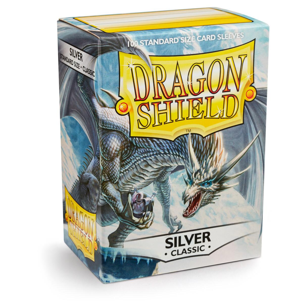 Dragon Shield 100 Sleeves - Silver