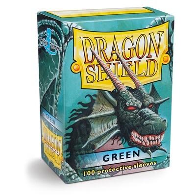 Dragon Shield 100 Sleeves - Green
