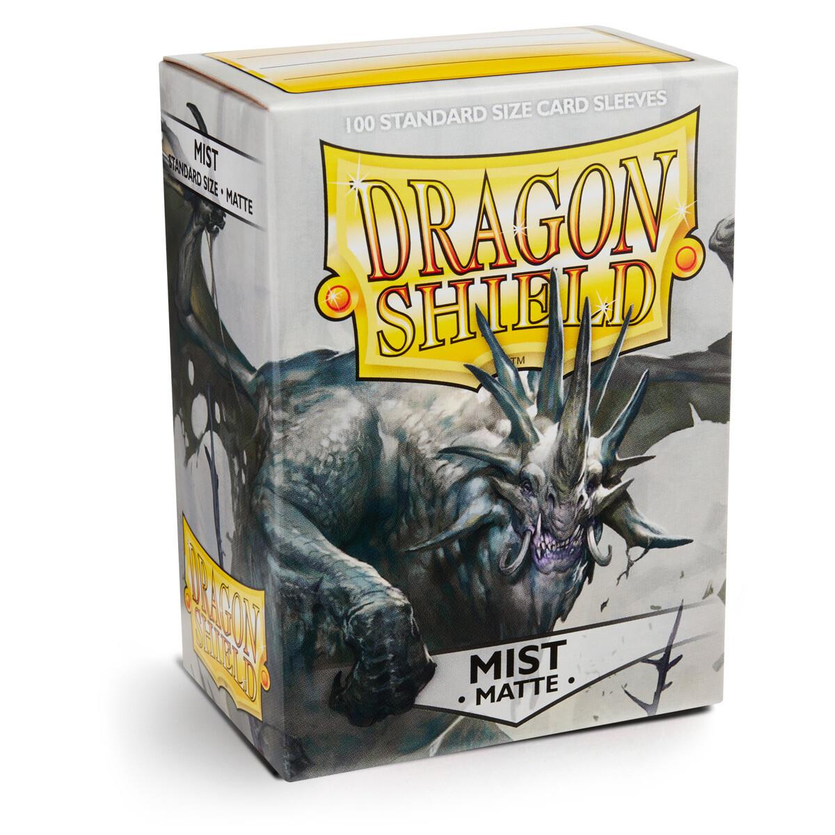 Dragon Shield 100 Sleeves - Matte Mist