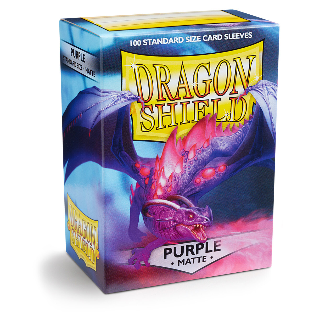 Dragon Shield 100 Sleeves - Matte Purple