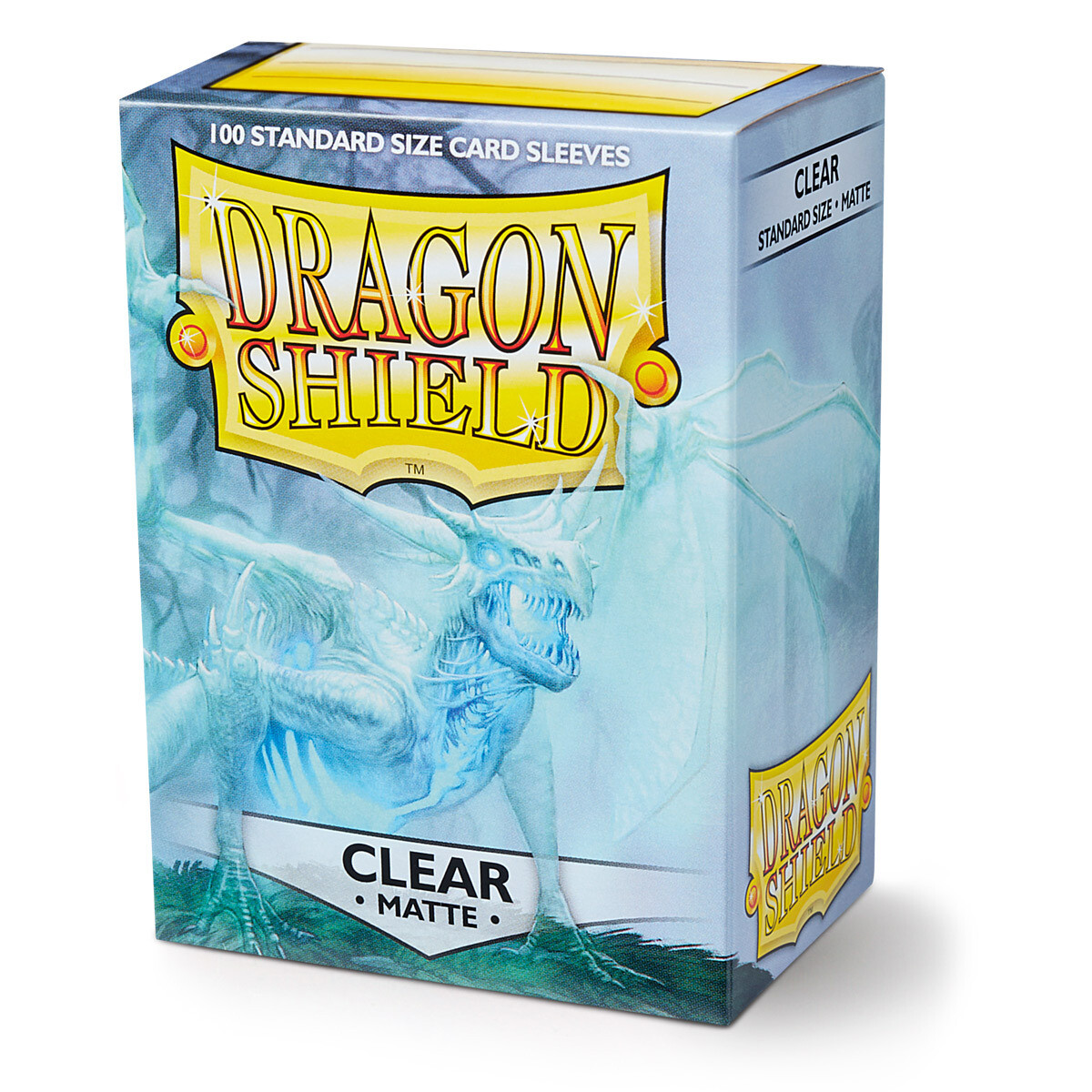 Dragon Shield 100 Sleeves - Matte Clear