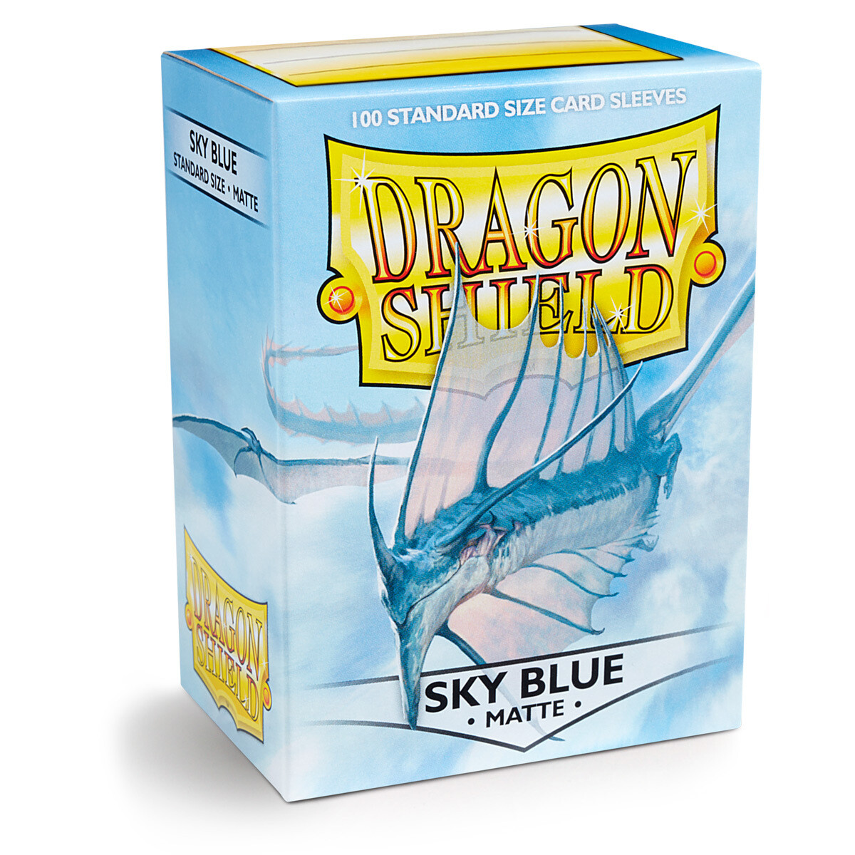Dragon Shield 100 Sleeves - Matte Sky Blue