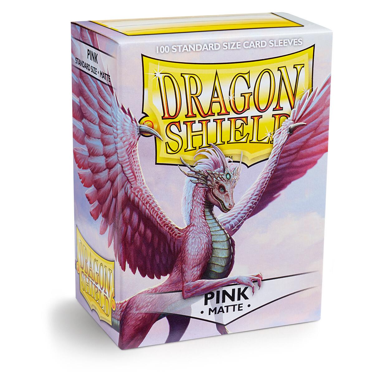 Dragon Shield 100 Sleeves - Matte Pink