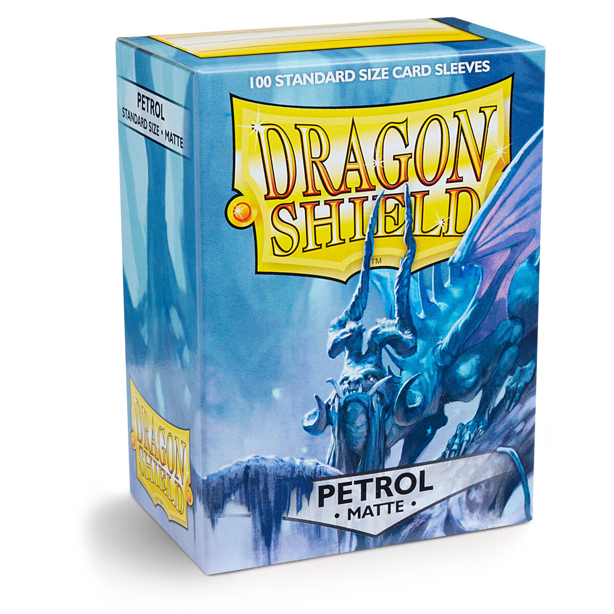 Dragon Shield 100 Sleeves - Matte Petrol