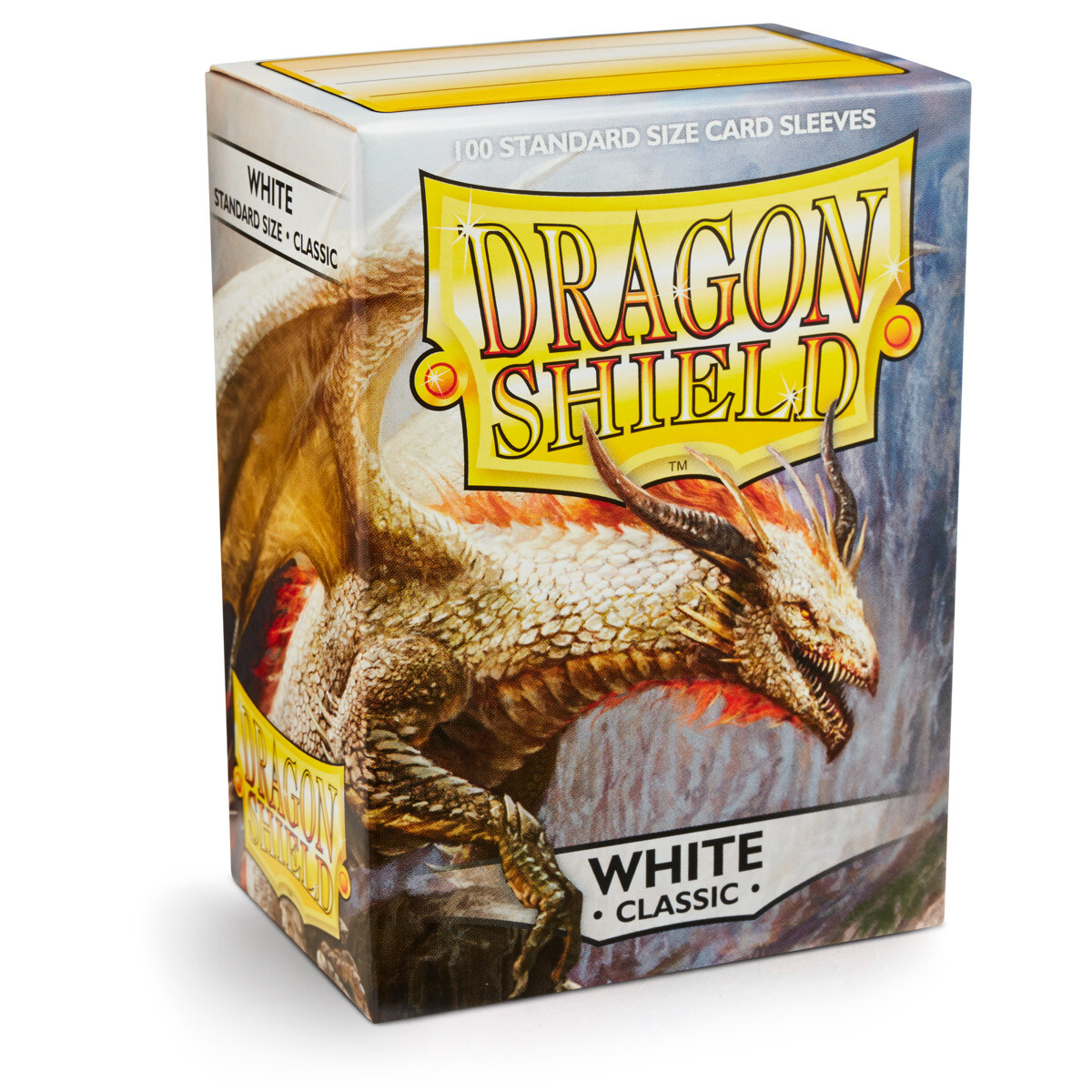 Dragon Shield 100 Sleeves - White