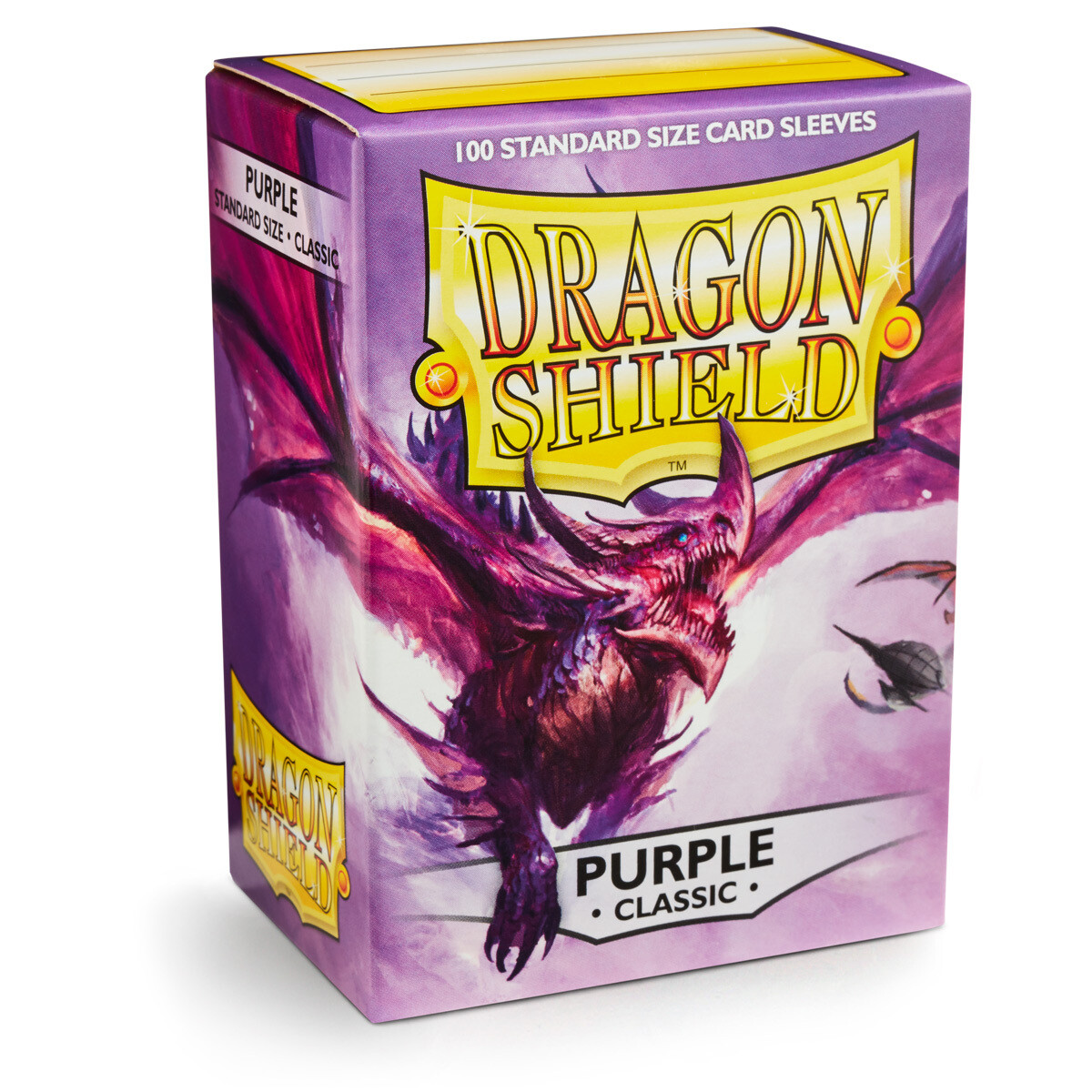 Dragon Shield 100 Sleeves - Purple