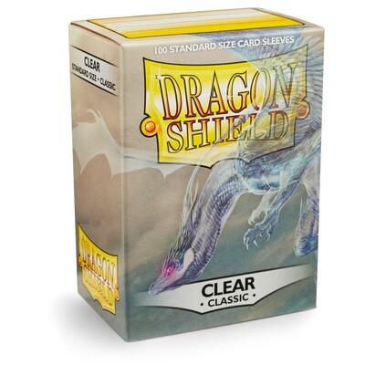 Dragon Shield 100 Sleeves - Clear