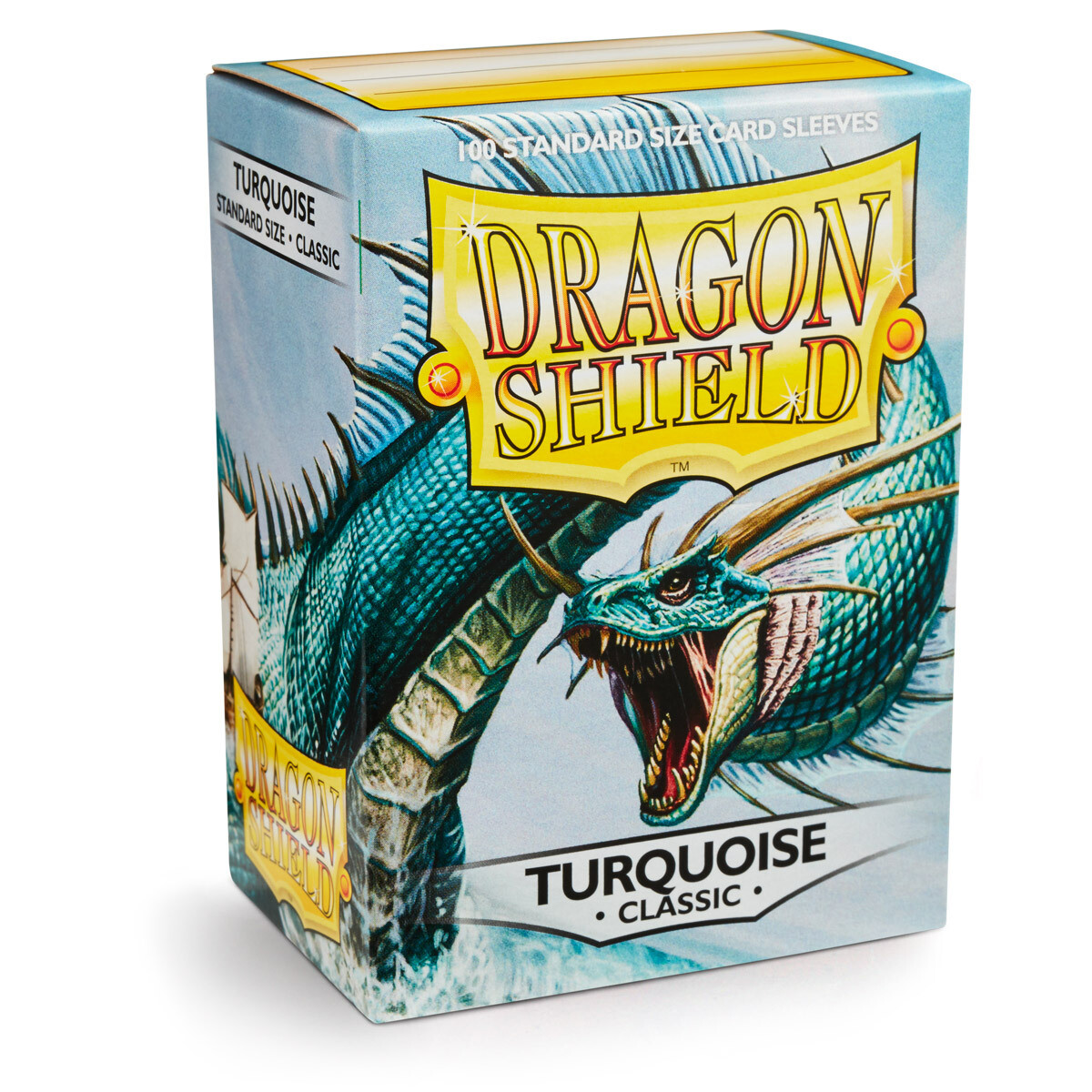 Dragon Shield 100 Sleeves - Turquoise