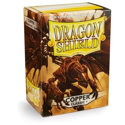 Dragon Shield 100 Sleeves - Copper