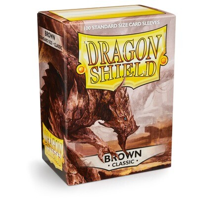 Dragon Shield 100 Sleeves - Brown