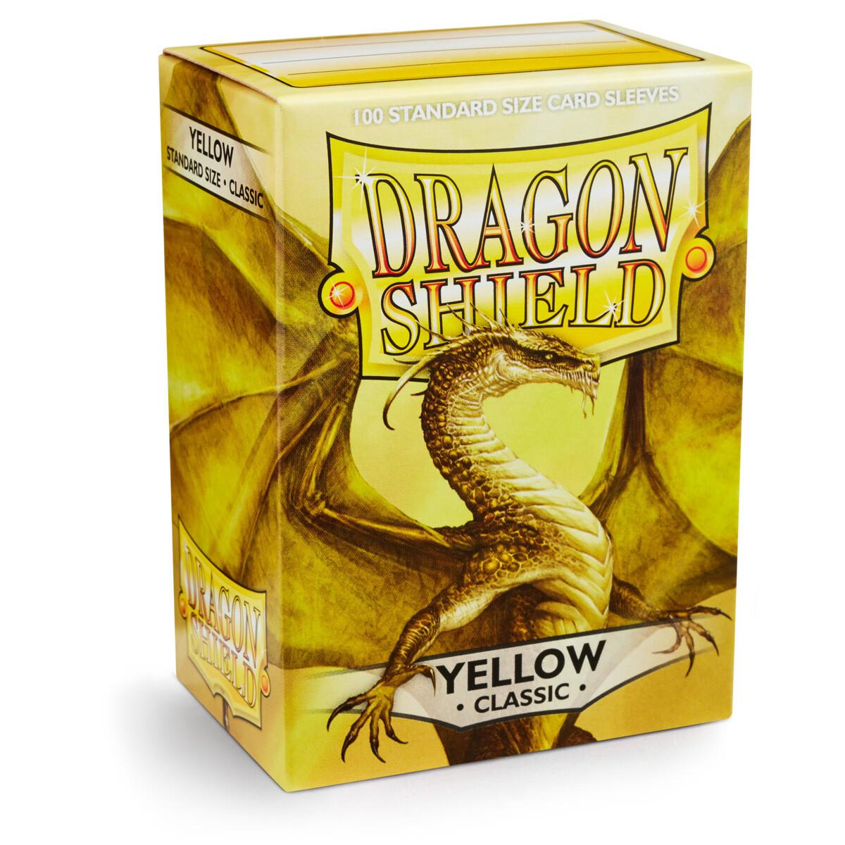 Dragon Shield 100 Sleeves - Yellow