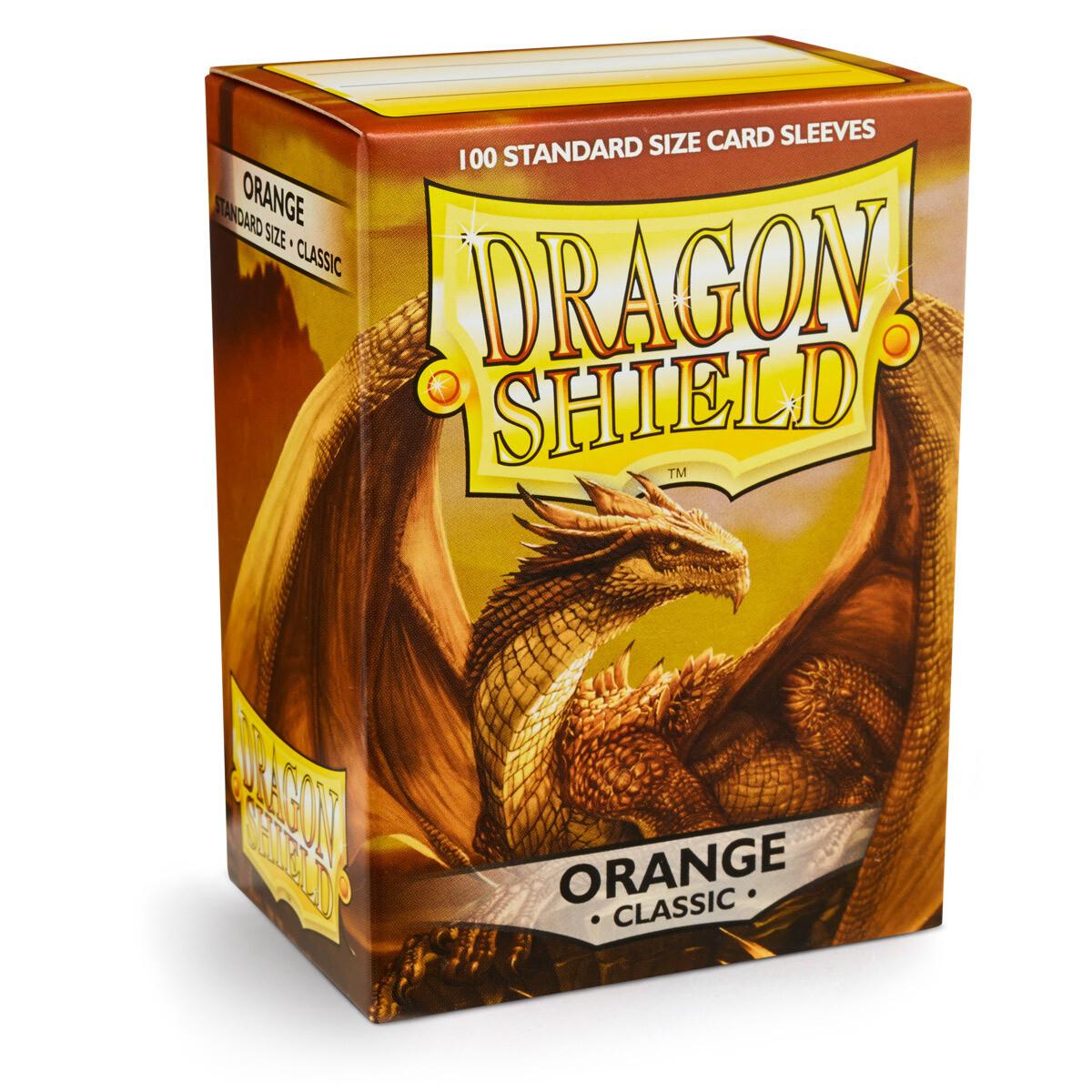 Dragon Shield 100 Sleeves - Orange
