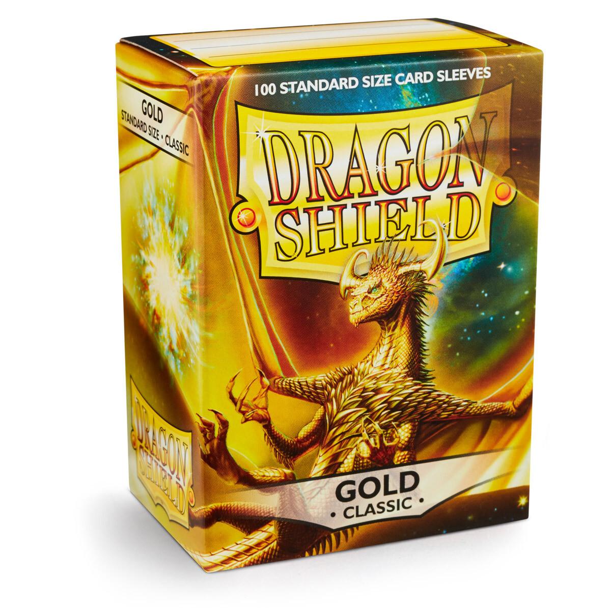 Dragon Shield 100 Sleeves - Gold