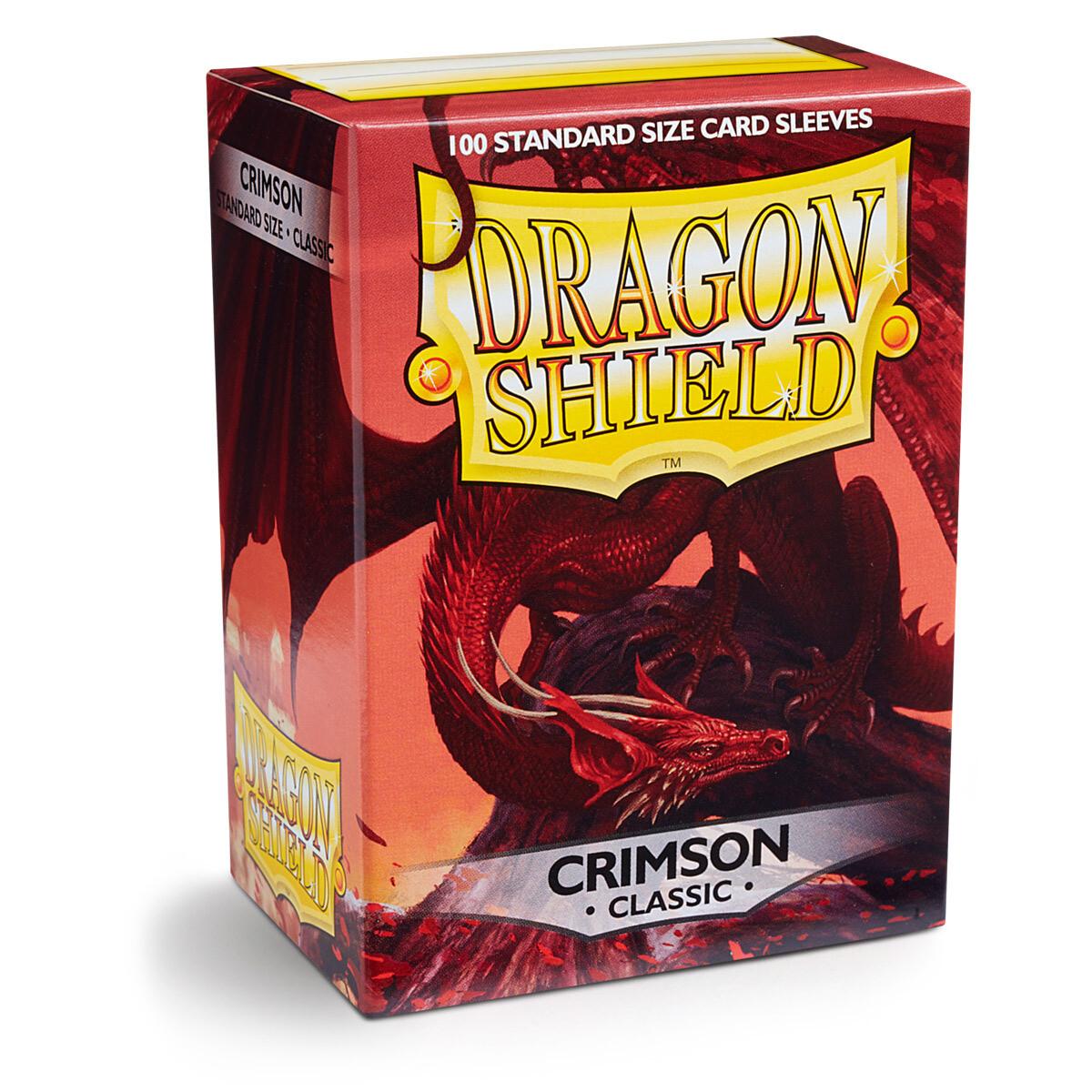 Dragon Shield 100 Sleeves - Crimson Classic