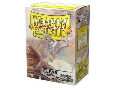 Dragon Shield 100 Sleeves - Matte Clear NON Glare