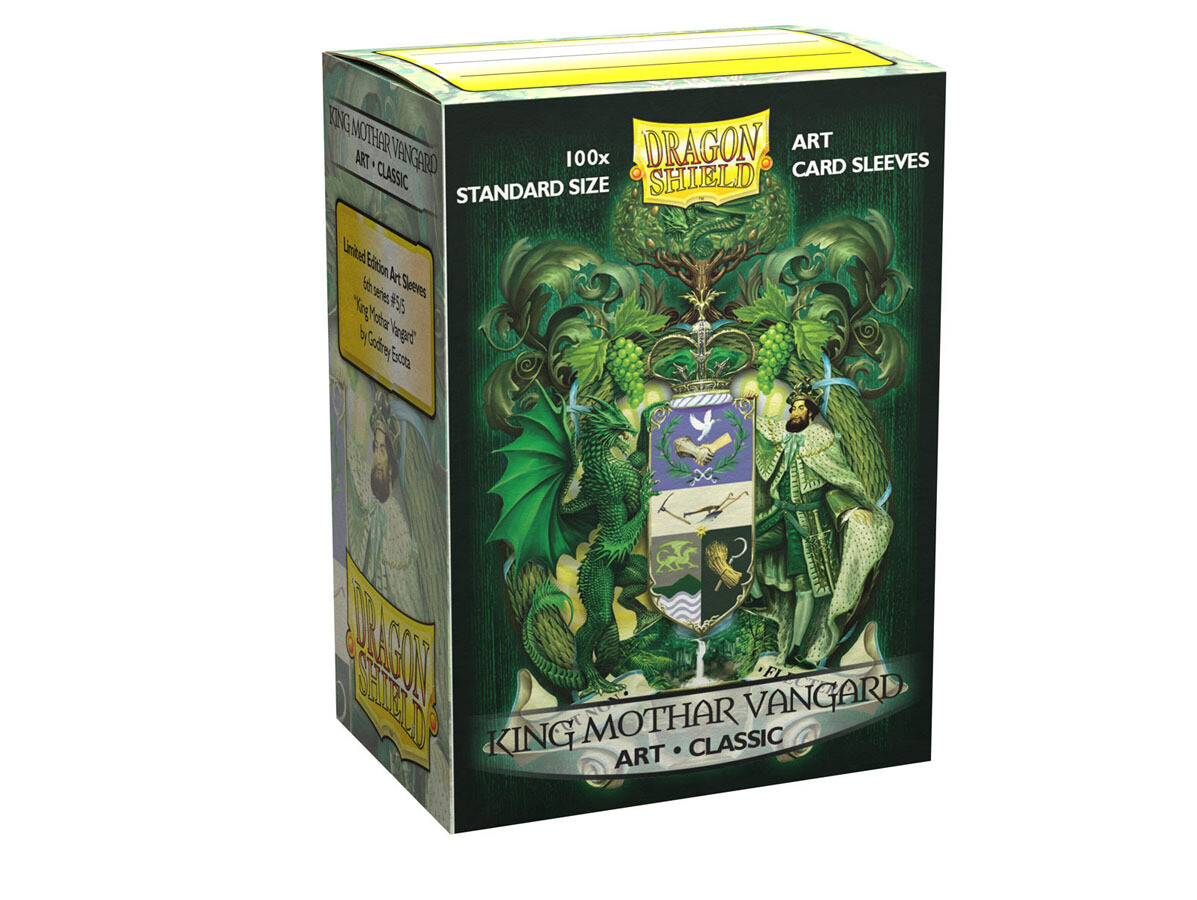 Dragon Shield 100 Sleeves Art King Mothar Vangard Classic