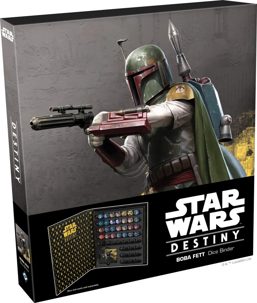 Star Wars Destiny - Dice Binder (Boba Fett)
