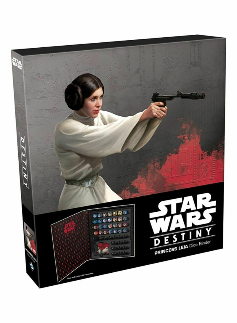 Star Wars Destiny - Dice Binder (Leia)