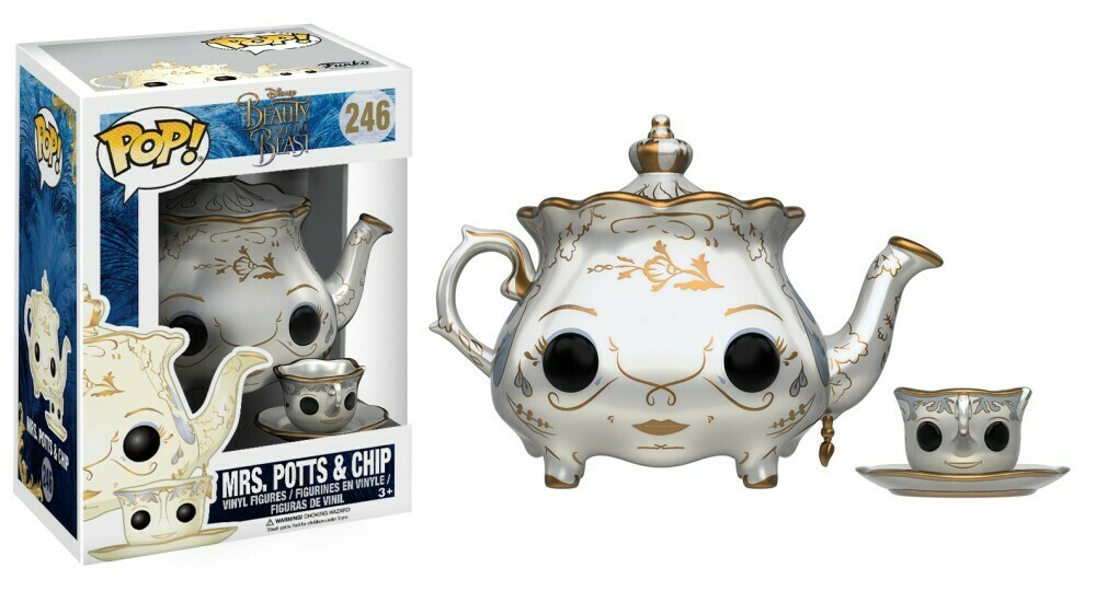 POP Funko - Beauty and the Beast - Mrs. Potts & Chip 246
