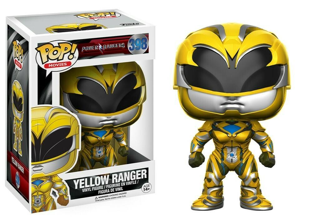 POP Funko - Yellow Ranger #398